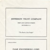 Image of pg [7] ads: Jefferson Trust Co.; Fame Engineering Corp.