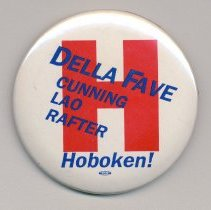 Image of button 2: Della Fave (mayoral candidate) & slate