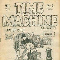Image of Time Machine Magazine, Hoboken, N.J., No. 3, (June 1976). - Magazine