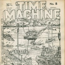 Image of Time Machine Magazine No. 5; front cover