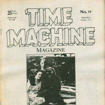 Image of Time Machine Magazine, Hoboken, N.J. No. 11, February [1977.} - Magazine