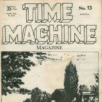 Image of Time Machine Magazine No. 13; front cover