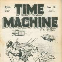 Image of Time Machine Magazine No. 14; front cover