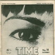 Image of Time Machine Magazine No. 16; front cover