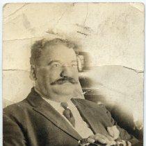 Image of Sepia tone photograph of Michael Riccio of Hoboken, Hoboken(?), n.d., ca. 1907-1918.  - Photograph