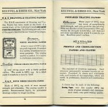 Image of pp 90-91: Drawing & Tracing Papers; Cross-section... Papers & Cloths