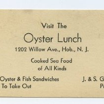 Image of Oyster Lunch; copy 2
