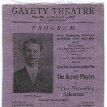 Image of 2: Week of Feb. 9, 1914; The Traveling Salesman; Lawrence Dunbar