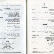 Image of pp [6-7] Committees; Menu; Program