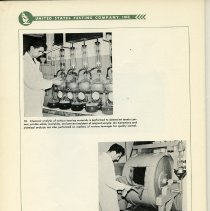 Image of pg 64, photos 10 & 11: tanning facilities [leathers, chemicals, processes]
