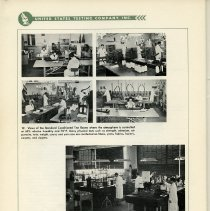 Image of pg 70, photos 12 & 13: Standard Conditioned Test Rooms; Textile Division