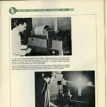 Image of pg 22, photos 3 & 4: lab views Infrared Spectrophotometer, Spectrograph