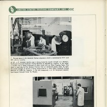Image of pg 48, photos 7 & 8: Materials Testing Laboratory