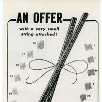 "Image of Ads, magazine: Venus Pencils; ""The American Drawing Pencil."" American Pencil Co., Hoboken, N.J. N.d., ca. 1942. - Ad, Magazine"
