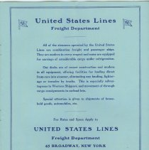 Image of pg 11: United States Lines, Freight Department
