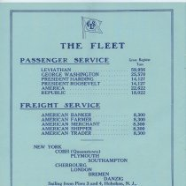 Image of pg 12: The Fleet (and pier information)