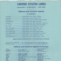 Image of pg 13: Offices and General Agents; in America; in Europe