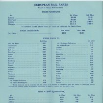Image of pg 6: European Rail Fares