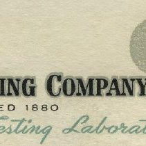Image of detail 1: company name and logo
