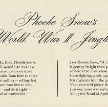 Image of pg [18] Phoebe Snow's World War II Jingles