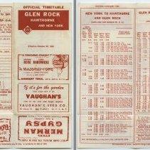 Image of 1: Glen Rock, Hawthorne & New York; both sides