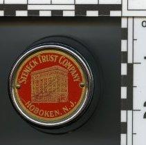 Image of Bank, mechanical: Steneck Trust Company, Hoboken, N.J. N.d., ca. 1923 to 1931. - Bank, Mechanical