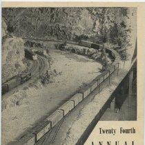 Image of Bulletin: 24th Annual Exhibition. N.Y. Society of Model Engineers, Inc., Lackawanna Terminal, Hoboken, N.J. Vol. 17, No. 1, Feb. 1954.  - Pamphlet