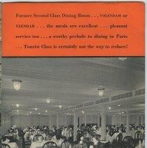 Image of pg [15]: Volendam or Veendam Tourist Class dining room