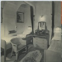 Image of pg [2]: Statendam Tourist Class cabin, formerly Second Class