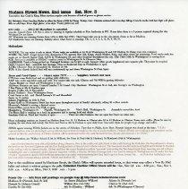 Image of Picard newsletter, 3rd issue, Sat. Nov. 3