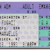 Image of 2: Fugazi, Monday, August 16, 1993