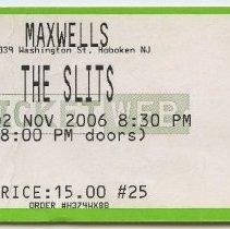 Image of 4: The Slits, Thursday, November 2, 2006