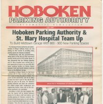Image of Hoboken Parking Authority Informative Newsletter. June 1999. Published by the Parking Authority of the City of Hoboken. - Newsletter