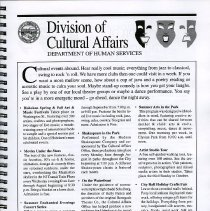 Image of pg [11] Division of Cultural Affairs