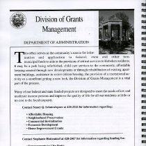 Image of pg [18] Division of Grants Management