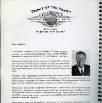 Image of pg [2]: Letter from Office of the Mayor, Anthony Russo