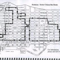 Image of pg [27] (Map) Hoboken - Senior Citizen Bus Route