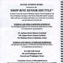 Image of pg [28] Shop Rite Senior Shuttle