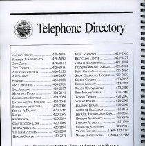 Image of pg [4] Telephone Directory