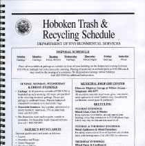 Image of pg [5] Hoboken Trash & Recycling Schedule