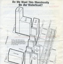 Image of handbill 2, side 1: map