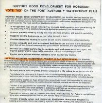 "Image of handbill 2, side 2: Support Good Development for Hoboken; Vote ""No"""