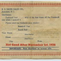 Image of side 2: coupon