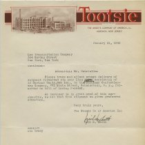Image of 1940 letter