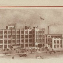 Image of detail vignette view of Tootsie factory