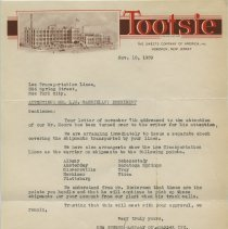 Image of 1939 letter