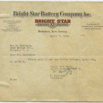 Image of 1: Bright Star Battery Co., April 7, 1930