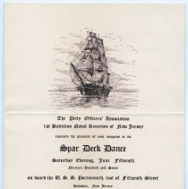 Image of invitation, front