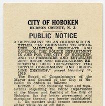 Image of Public Notice, 1937