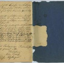 Image of pg [36] end; name of Frau Johanne Gernhofer, 117 Grand St., Hoboken